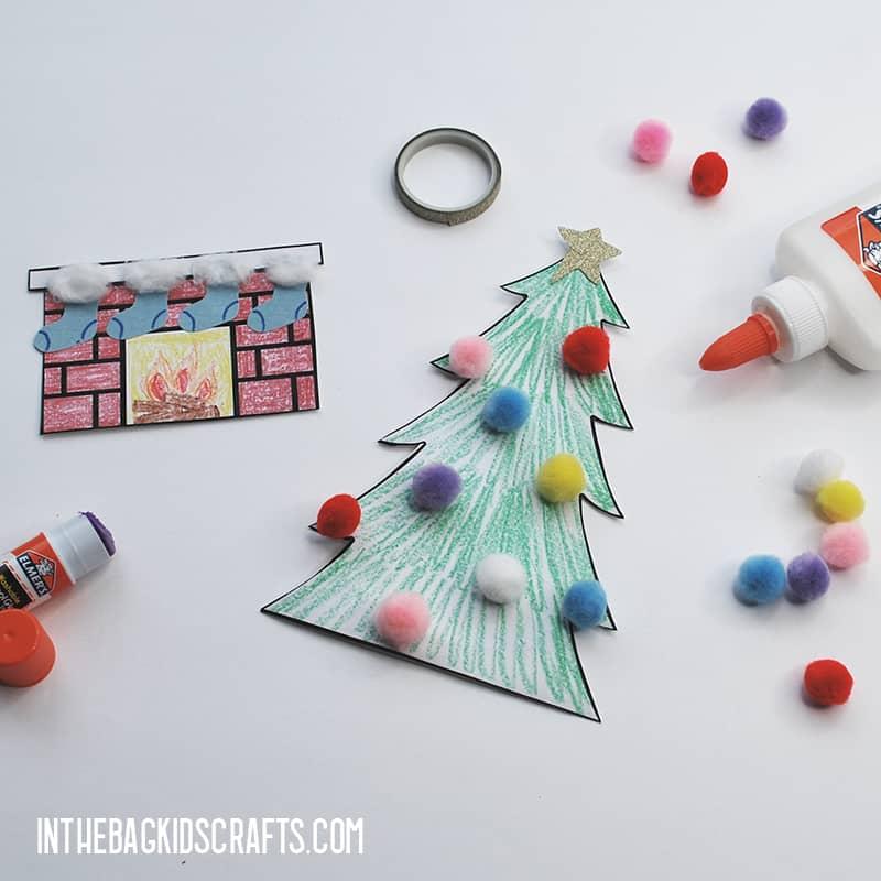 FREE PRINTABLE CHRISTMAS CRAFT STEP 4