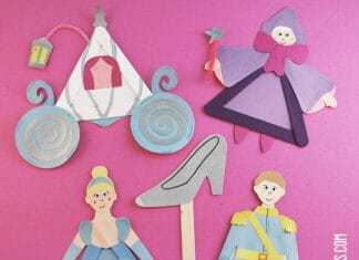 CINDERELLA ACTITVITIES CRAFT COLLECTION