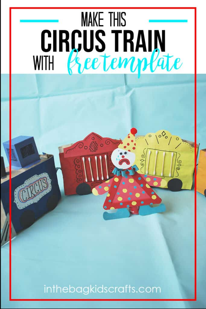 PAPER TRAIN CRAFT FOR KIDS