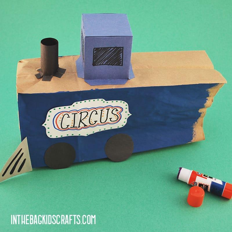 CIRCUS TRAIN CRAFT STEP 5