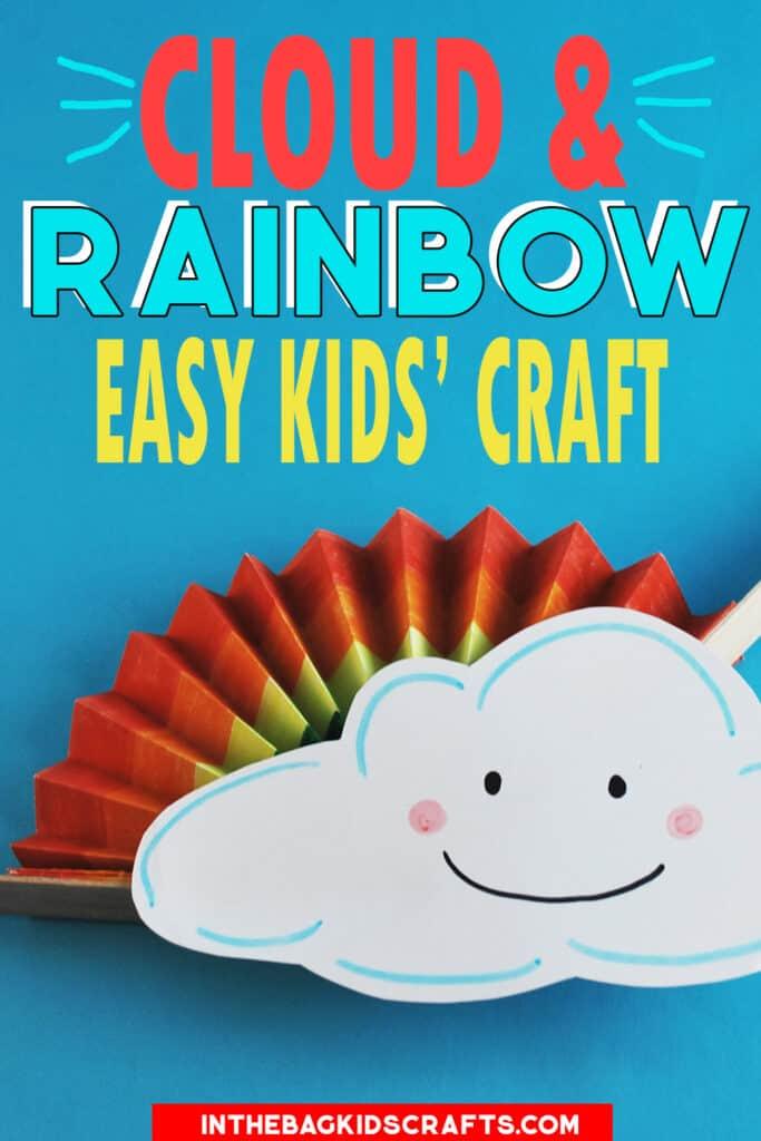 CLOUD CRAFT WITH RAINBOW FAN