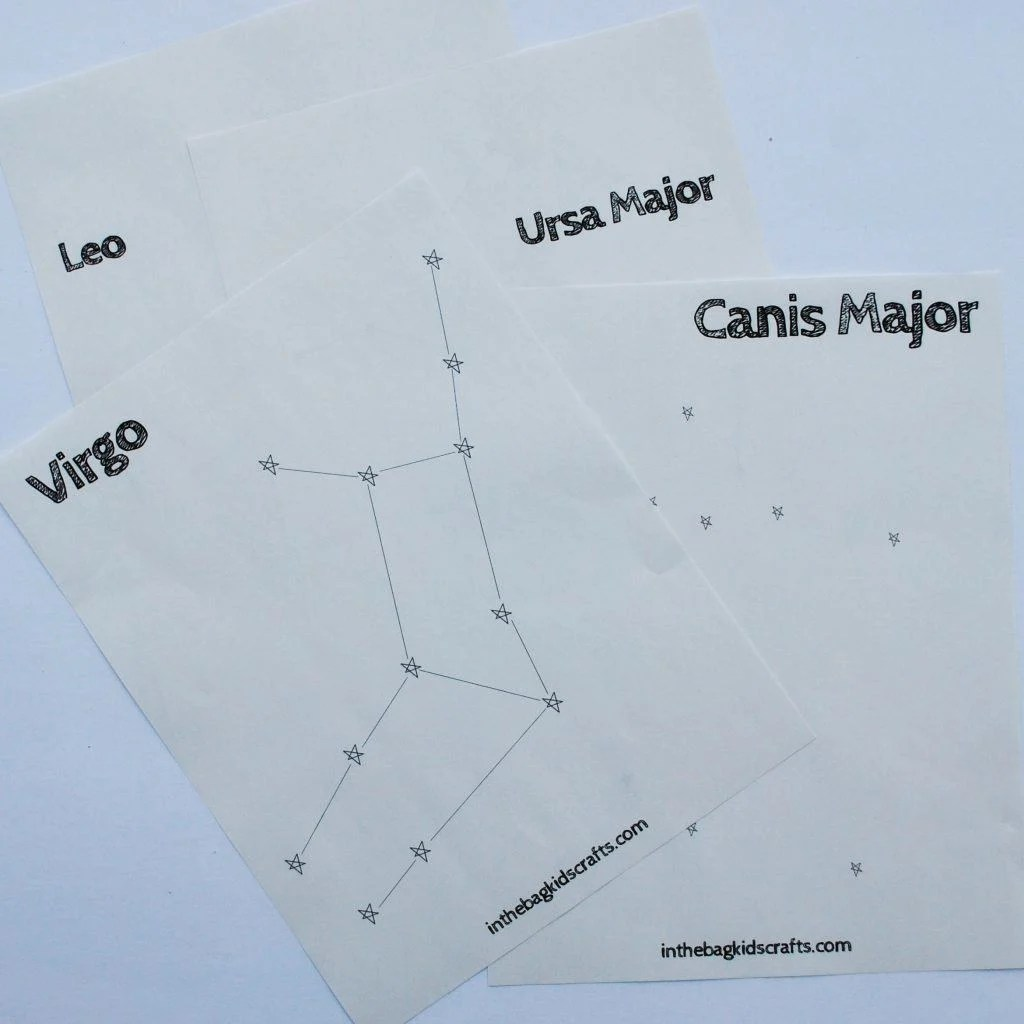 constellation printables