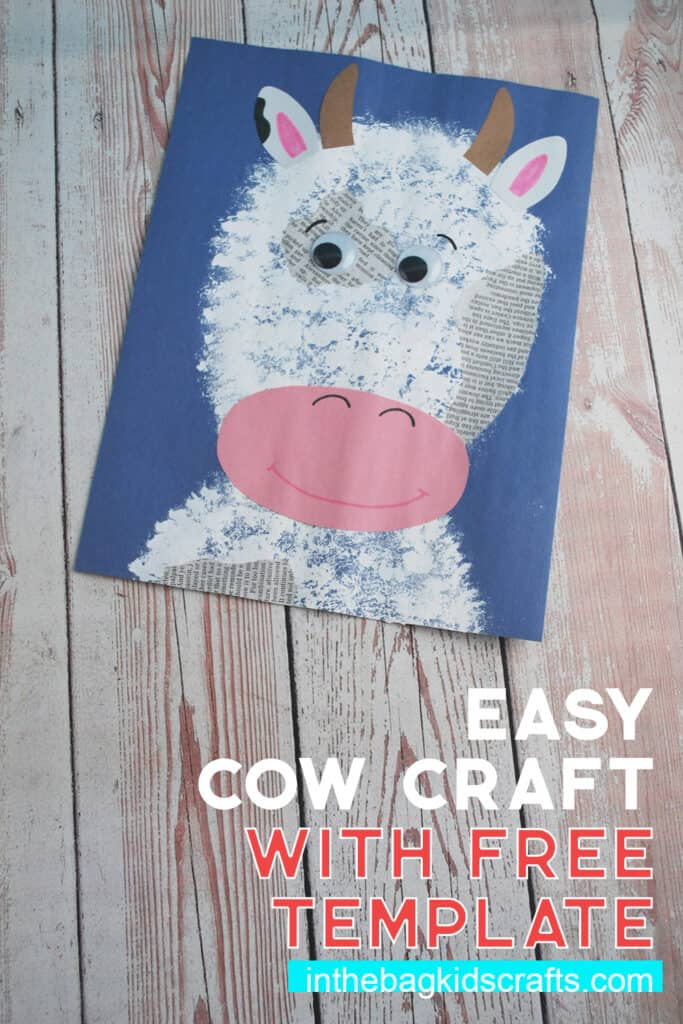 COW CRAFT FOR KIDS