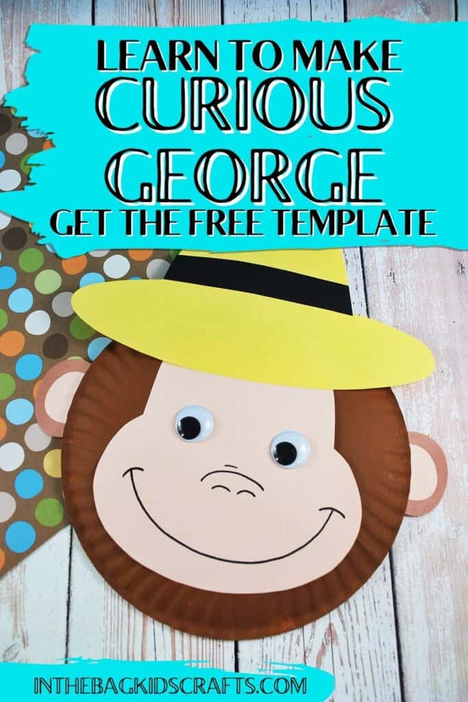 MONKEY CRAFT FOR KIDS CURIOUS GEORGE