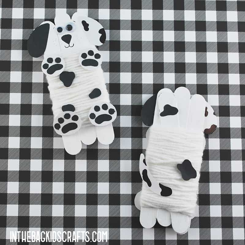 DALMATIAN CRAFT FRONT AND BACK
