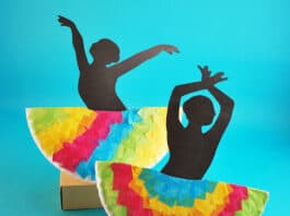 DANCER CRAFT FOR KIDS