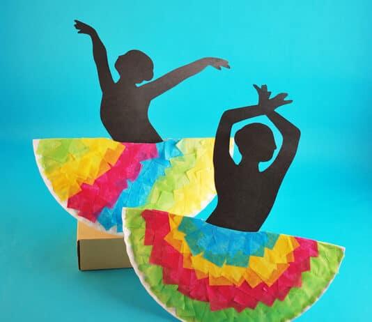DANCER CRAFT FOR KIDS
