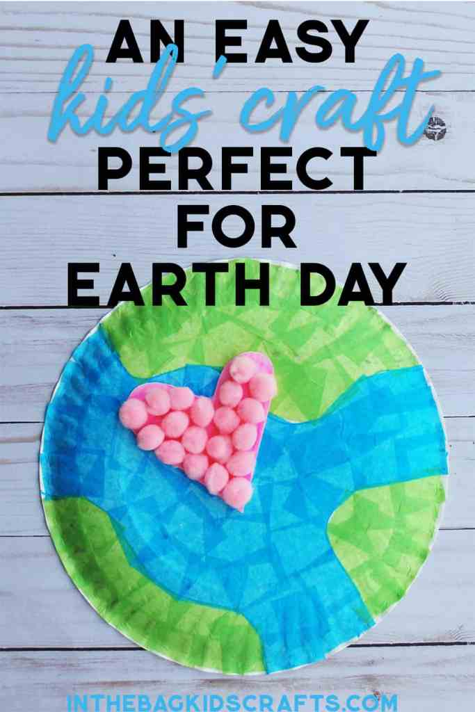 EARTH DAY KIDS' CRAFT