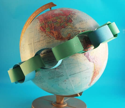 EARTH DAY ACTIVITIES PAPER CHAIN