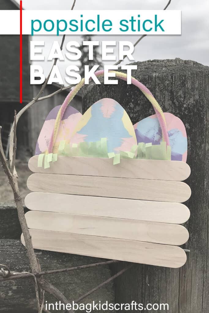 EASY EASTER BASKET CRAFT