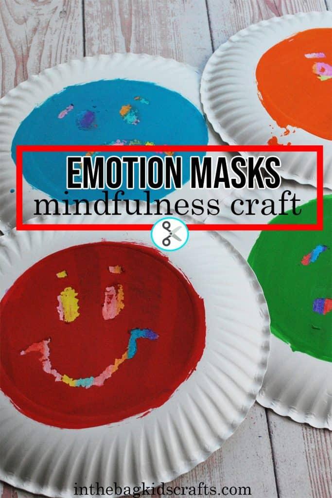 MINDFULNESS ACTIVITY FOR KIDS EMOTION MASKS