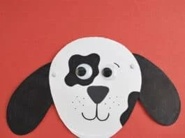 PAPER PLATE DOG CRAFT FEATURED IMAGE