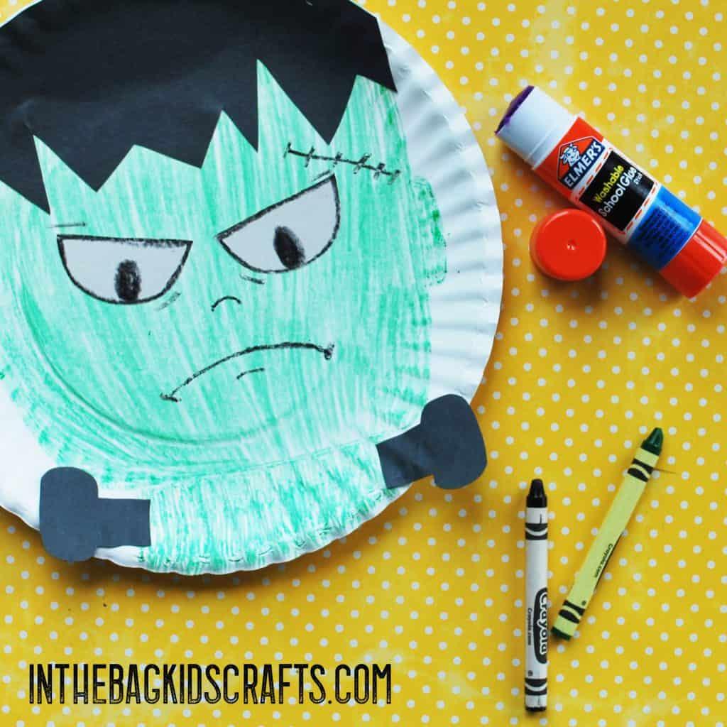 Halloween Paddle Ball Game Frankenstein