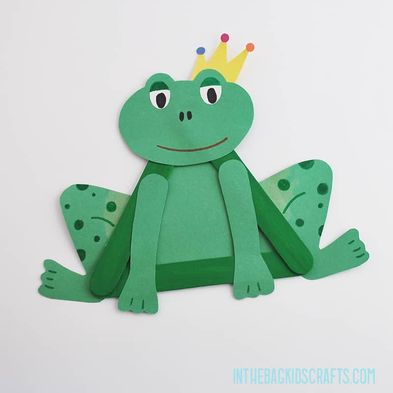 THE FROG PRINCE FROM THE PRINCESS AND THE FROG