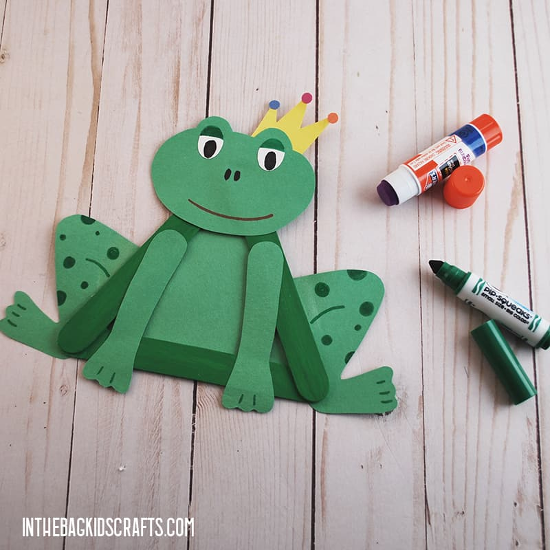 The Princess and the Frog Frog Craft