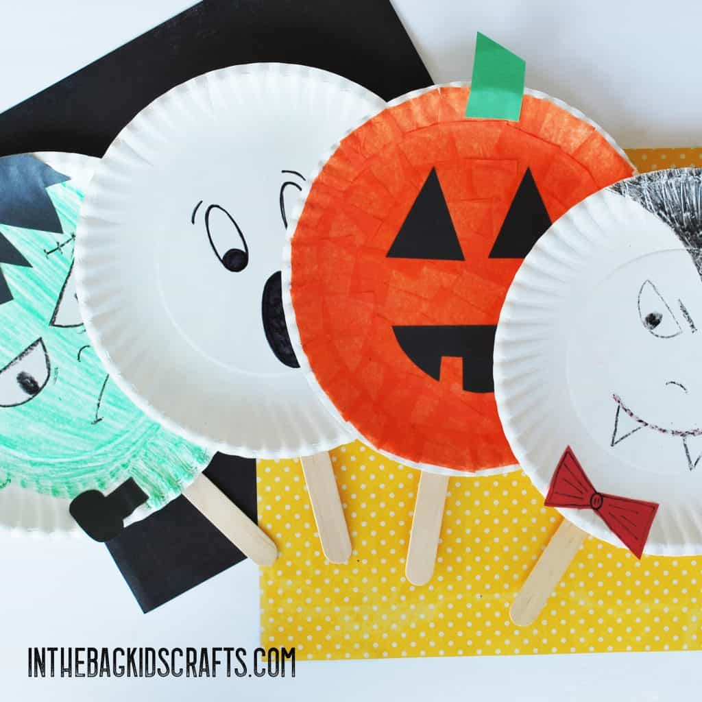 BEST FALL CRAFTS FOR KIDS PADDLE BALL