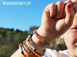Halloween Washi Tape Bracelets