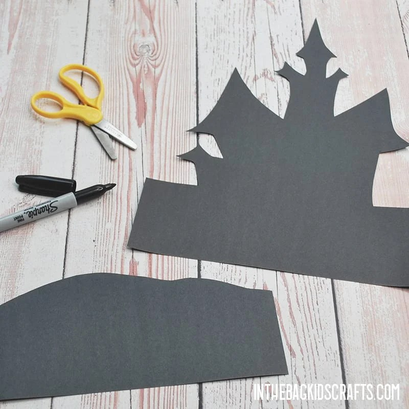 HAUNTED HOUSE CRAFT PROJECT STEP 1