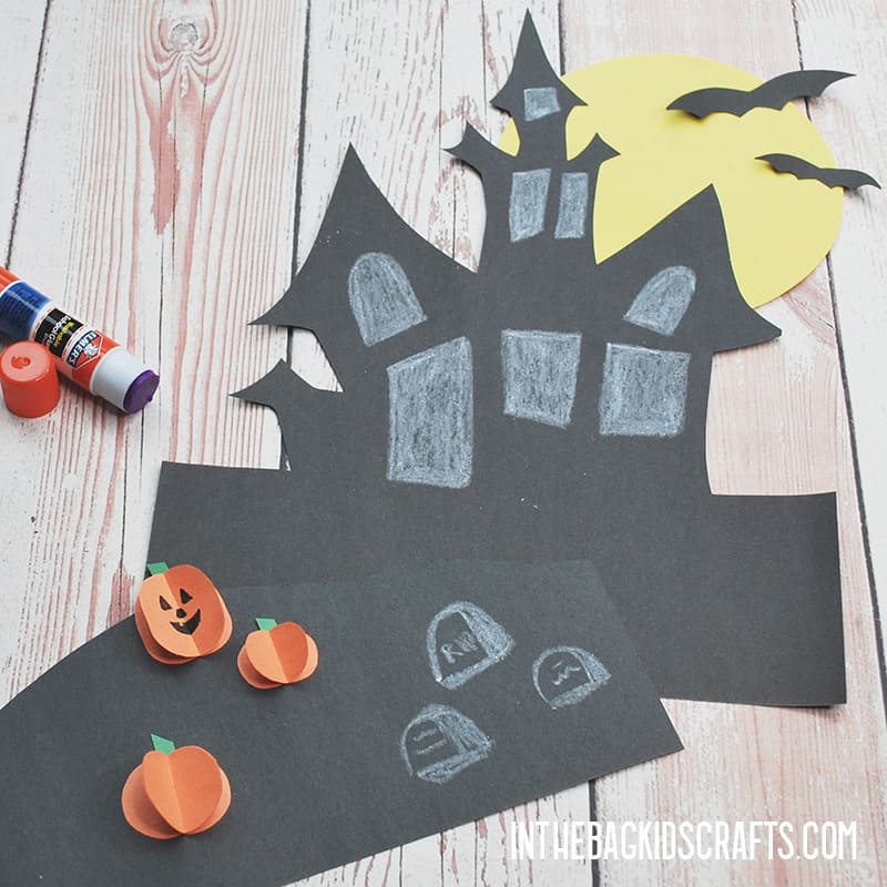 HAUNTED HOUSE CRAFT PROJECT STEP 4