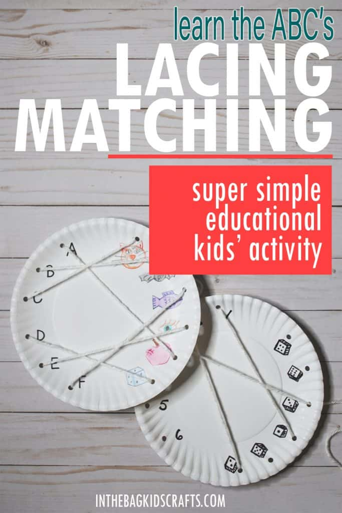 LACING KIDS ACTIVITY