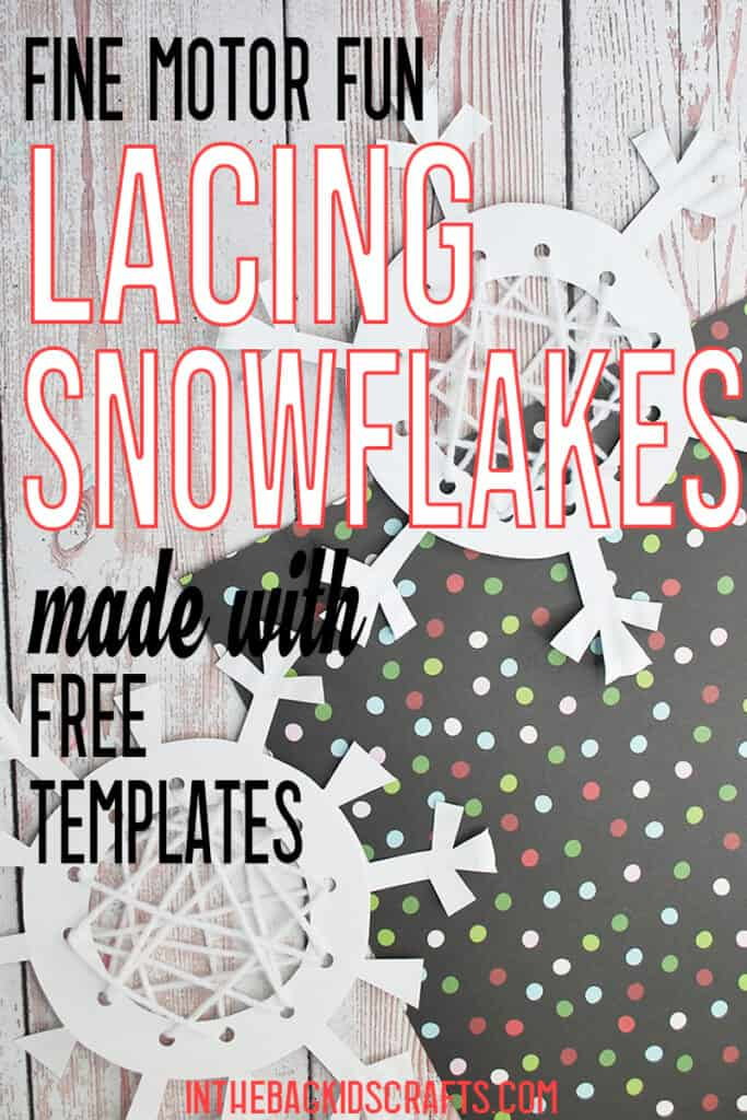 PAPER SNOWFLAKE CRAFTS FOR KIDS