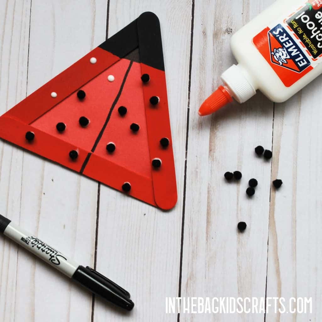 INSECT CRAFTS FOR KIDS LADYBUG