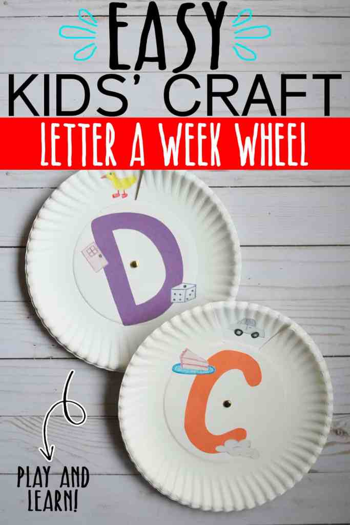 ALPHABET LETTER KIDS ACTIVITY
