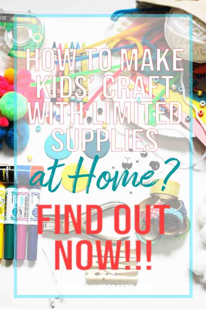BEST CRAFT SUPPLIES FOR KIDS