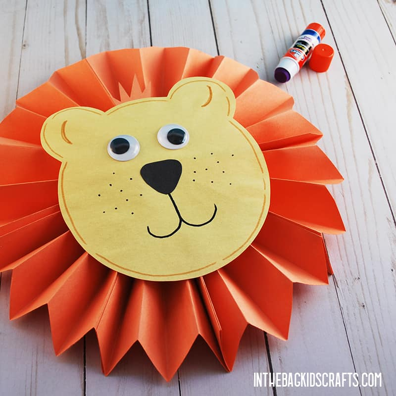 LION CRAFT STEP 6