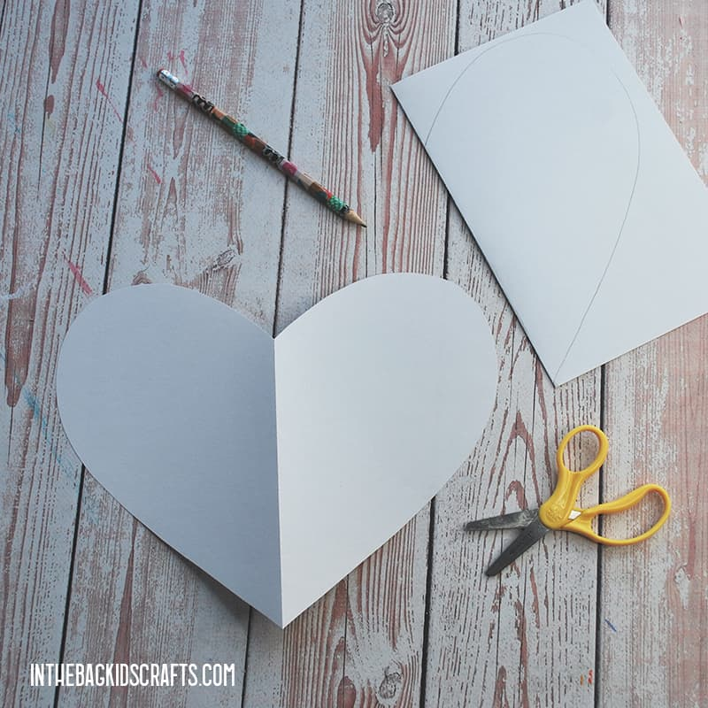 PAPER HEARTS STEP 1