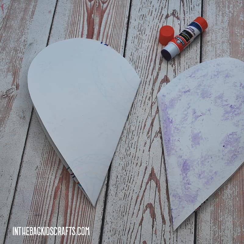 PAPER HEARTS CRAFT STEP 4