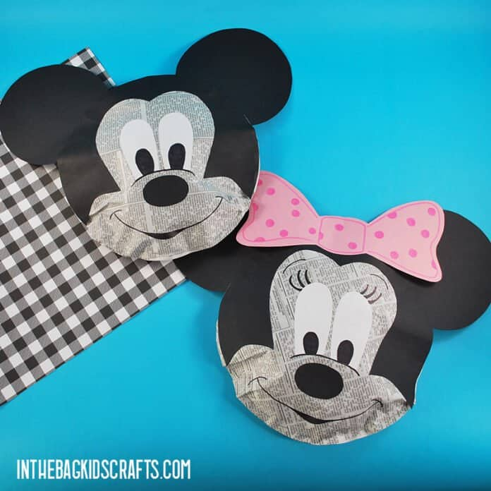 MICKEY CRAFTS AND MINNIE CRAFTS FOR KIDS