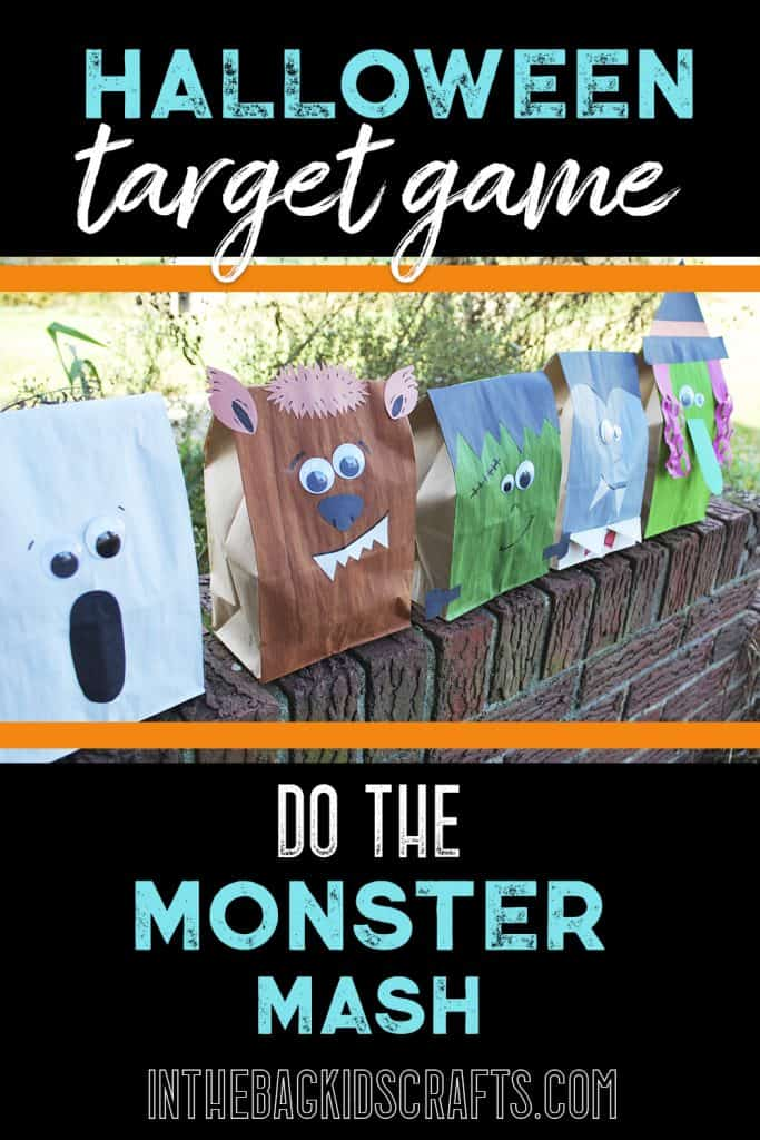 Halloween Monster Target Game