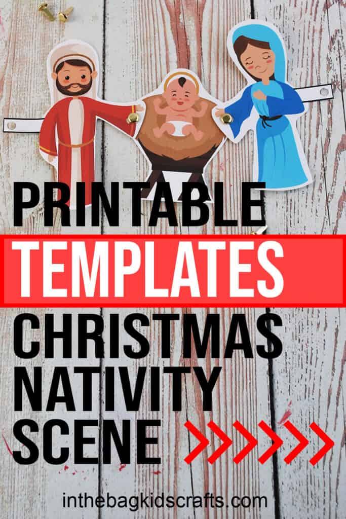 CHRISTMAS CRAFT NATIVITY