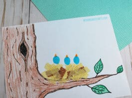 BIRD NEST CRAFT FOR PRESCHOOLERS FEATURED IMAGE