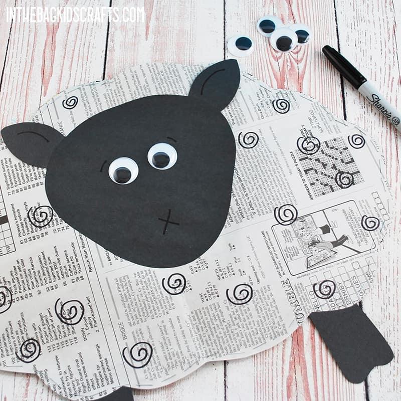 EASY SHEEP CRAFT STEP 6