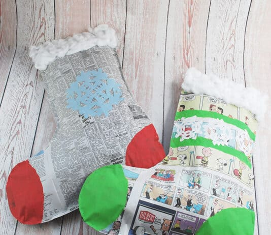 CHRISTMAS STOCKING ARTS AND CRAFTS