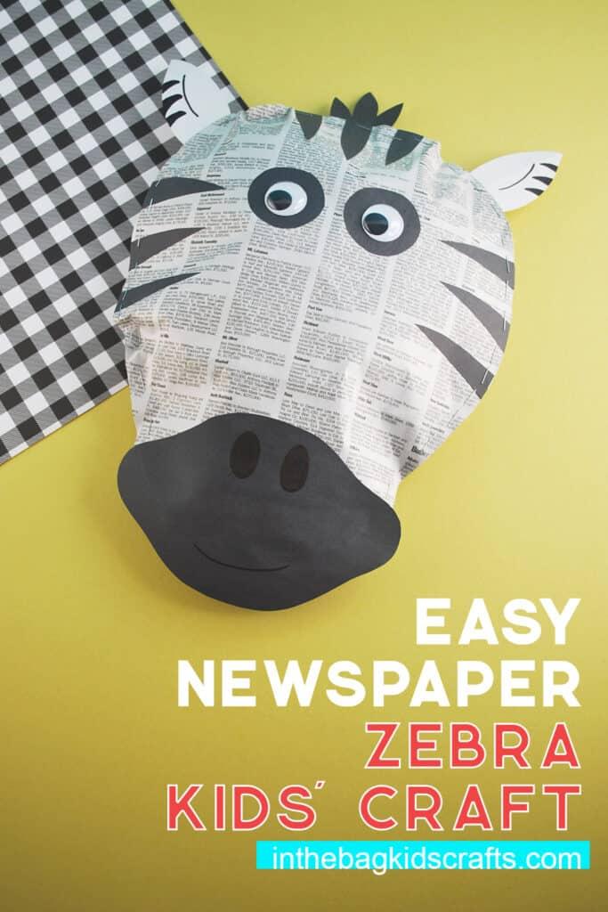 EASY ZEBRA CRAFT