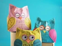 PAPER BAG OWL CRAFT FOR KIDS