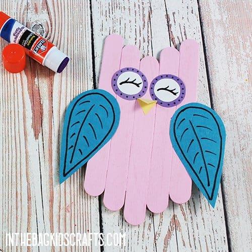 OWL CRAFT STEP 5