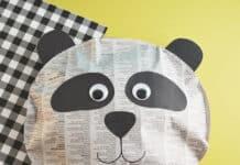 PANDA CRAFT FOR KIDS