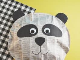 PANDA CRAFT FOR KIDS