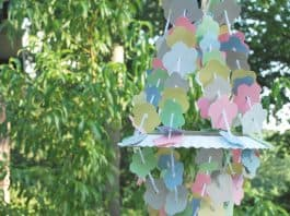 PAPER CHANDELIER CRAFT