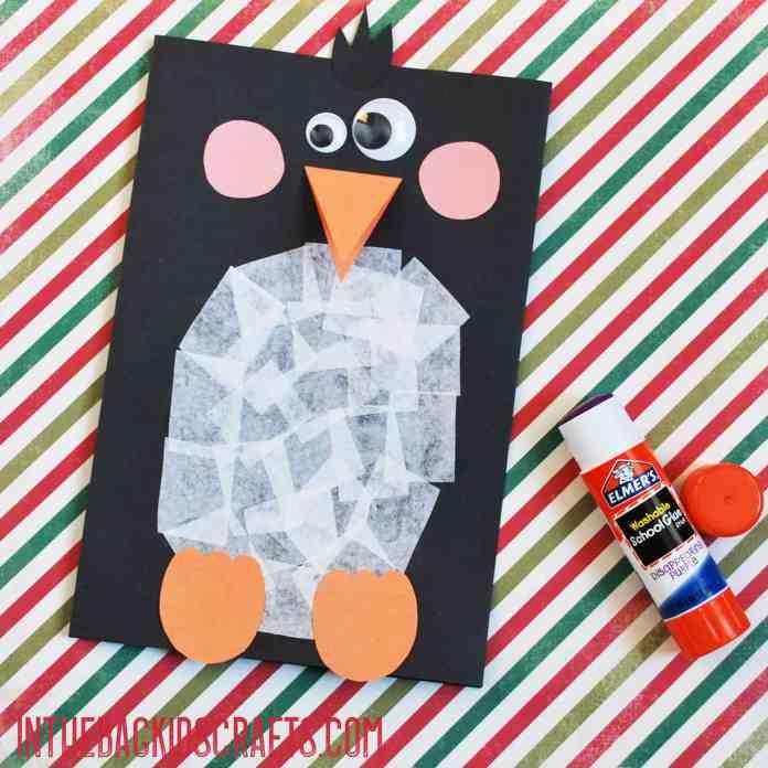 penguin card step 2