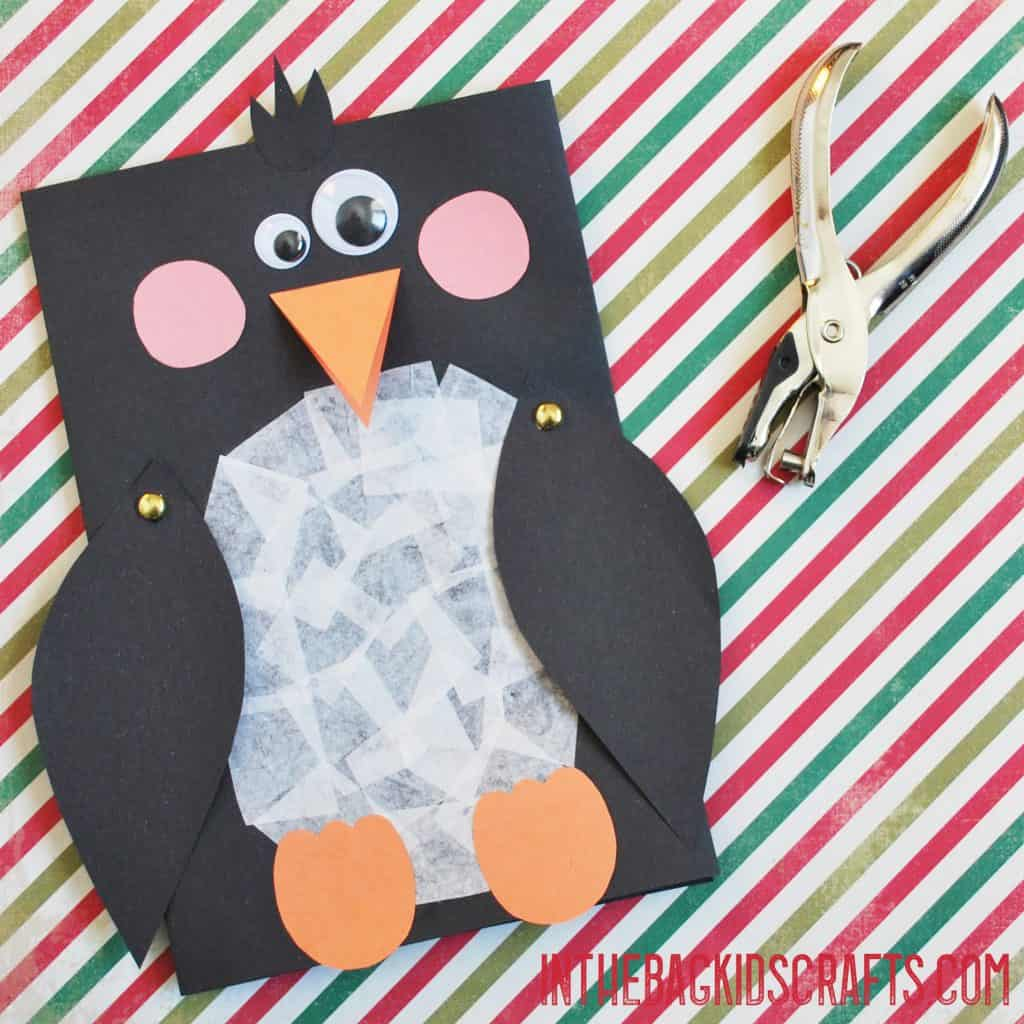penguin card step 3