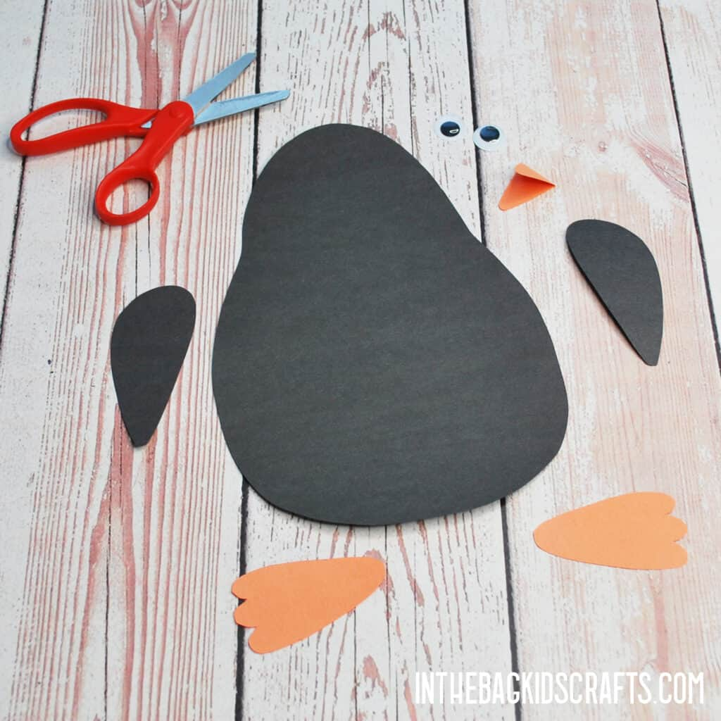 PENGUIN CRAFT FOR KIDS STEP 2