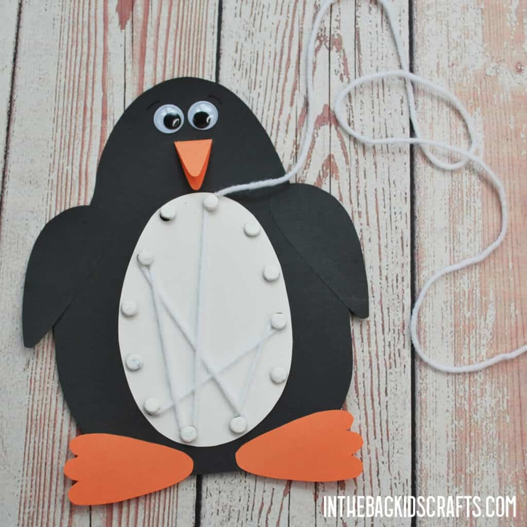 PENGUIN CRAFT FOR KIDS STEP 4