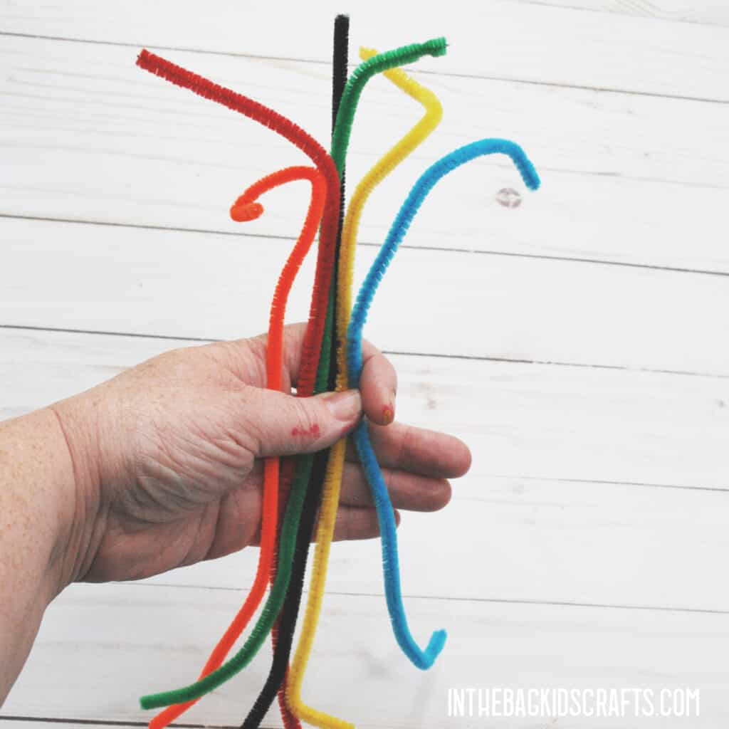 MATH MANIPULATIVES TO USE AT HOME PIPE CLEANERS