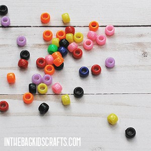 MATH MANIPULATIVES TO USE AT HOME PONY BEADS