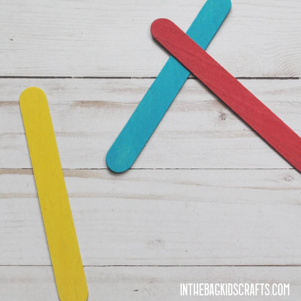 MATH MANIPULATIVES TO USE AT HOME POPSICLE STICKS